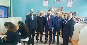 Yunus Emre Anadolu Lisesi, kütüphanesine kavuştu