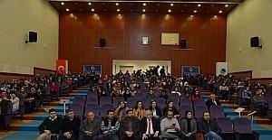AEÜ'de 'Türkçe'nin Ses Bayrakları' konferansı verildi