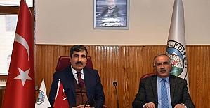 AK Parti heyetinden Muş Belediyesine ziyaret