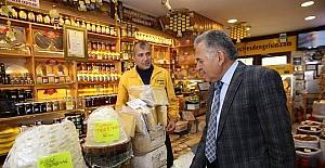 Başkan Büyükkılıç Erciyes Dağı'ndaki esnafı ziyaret etti