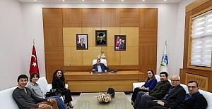Başkan Toçoğlu, TEMA Vakfı üyeleri ile bir araya geldi