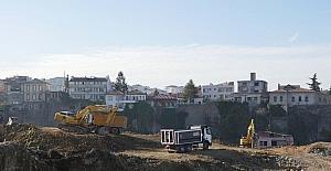 Cudibey Ortaokulu ve Trabzon Öğretmenevi'nin yapımına başlandı