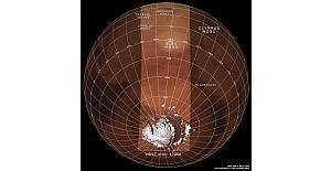 ESA, Mars'ın 'tersten' görüntüsünü çekti