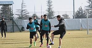 Eskişehirspor hazırlıklara devam etti
