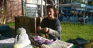 Ev hanımların el işi sergisi ilgi bekliyor
