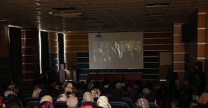 Filistinli ünlü yönetmen KBÜ'de