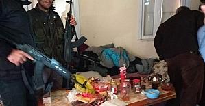 Giresun'da PKK'lı teröristin sığındığı yayla evi tespit edildi