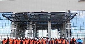 İnşaat Mühendisleri Odası üyeleri, Eskişehir Şehir Hastanesi'ne tam not verdi