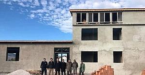 Kaymakam Çelik: Önceliğimiz köylerimizde sosyal faileyetlerin yapılacağı yatırımları tamamlamak