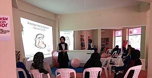 Köseköy Kadın Spor Merkezi'nde gebelik dersi verilecek