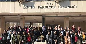 Kurtalan İHL öğrencileri DÜ'de
