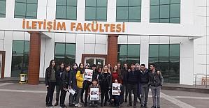 Liseli öğrenciler, İletişim Fakültesini gezdi