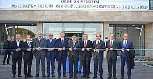 ODÜ'ye modern tesis