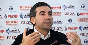 """Osman Özköylü: """"Herkesin zevkle takip edeceği bir Adanaspor izleteceğiz"""""""