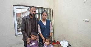 (Özel haber) Canbaz ailesi yanan evleri için yardım bekliyor