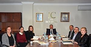 Rektör Karabulut IC Vakfı Yönetim Kurulu toplantısına katıldı