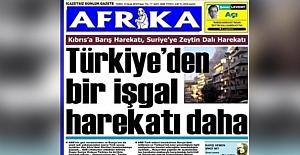 KKTC gazetesinden alçak manşet!