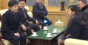 Kuzey Koreli heyeti Güney Kore'ye gitti