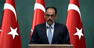 Türkiye'den Afrin açıklaması