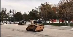 İlk insansız kara aracımızın görüntülendi