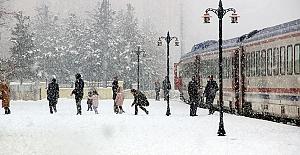 İstanbul'a kar geliyor sonunda