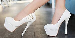 Topuklu ayakkabılar tehlike saçıyor