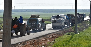 Afrin kentinde yağmalama