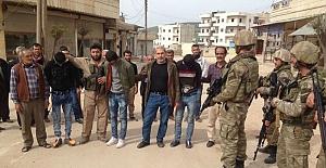 Afrin halkı TSK ile el ele