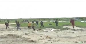 Filistin üzerinde gaz bombası deneniyor