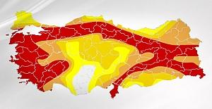 Türkiye'de deprem riski haritası güncellendi