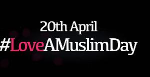Nefrete karşı Müslümanların dili 'sevgi' oldu