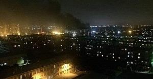 Bakü'de büyük patlama: 2 ölü, 2 yaralı