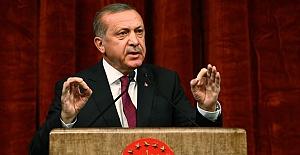 Erdoğan: Dara düştüklerinde yaptıkları tek iş..