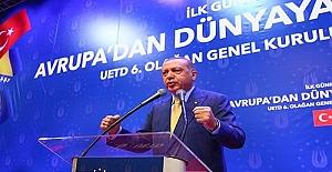 Türkler kendi aralarında birlik içinde olmalı