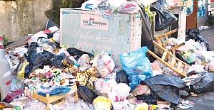 CHP'li ilçede çöpler hastalık tehlikesine neden olabilir