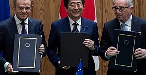 Dünyanın en büyük ticaret anlaşması imzaladı
