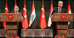 Erdoğan ile İbadi görüştü