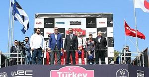 Erdoğan, Ralli Şampiyonası ödül törenine katıldı