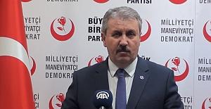 AK Parti'ye BBP'den yerel seçim desteği
