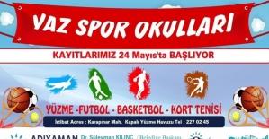 Adıyaman Belediyesi Yaz Spor okullarına kayıtlar başladı