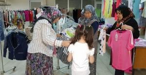 Buharkent Hayır Pazarı İhtiyaç Sahiplerini Sevindiriyor