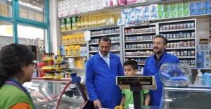 """Elazığ'da """"Bakkalımıza Bakakalma'' projesi"""