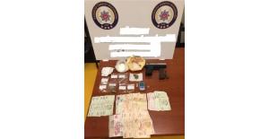 Gaziantep'te uyuşturucu operasyonlarında 8 gözaltı