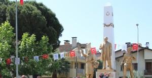 Germencik'te 19 Mayıs törenle kutlandı