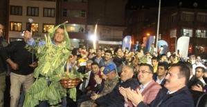 Hakkari'de 3.Ters Lale ve Uçkun Festivali coşkusu