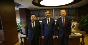 Hasan Avcı, Ankara'da temaslarda bulundu