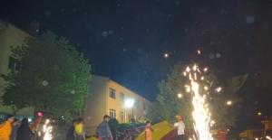 Hisarcık'ta şampiyonluk coşkusu