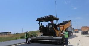 Mahraman yolunda asfalt çalışması tamamlandı