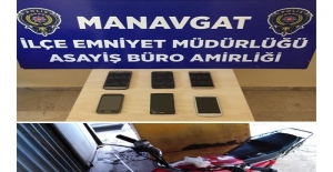Manavgat'ta değişik suçlardan 6 şüpheli yakalandı