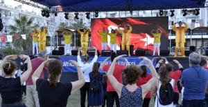 Mersin'de 19 Mayıs kutlamaları renkli görüntülere sahne oldu